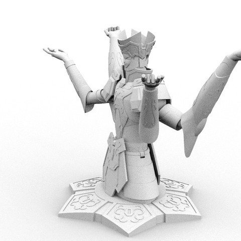 Download 3D printing templates Saint Seiya_Gemini, hungjet
