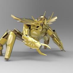 Descargar modelos 3D San Seiya Canciller, hungjet