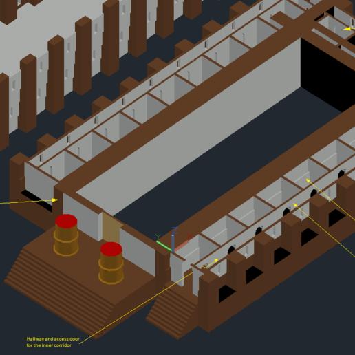 Download free 3D print files Solomon's Temple 955BC (my personal view), taciucmarius