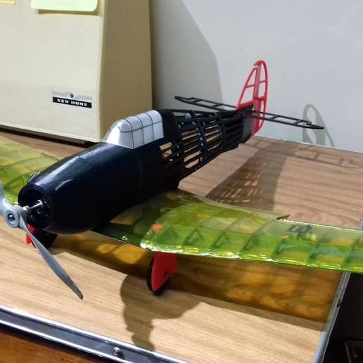 20190911_202222.jpg Télécharger fichier STL gratuit Full RC Hawker Hurricane - projet imprimé 3D • Objet pour imprimante 3D, taciucmarius