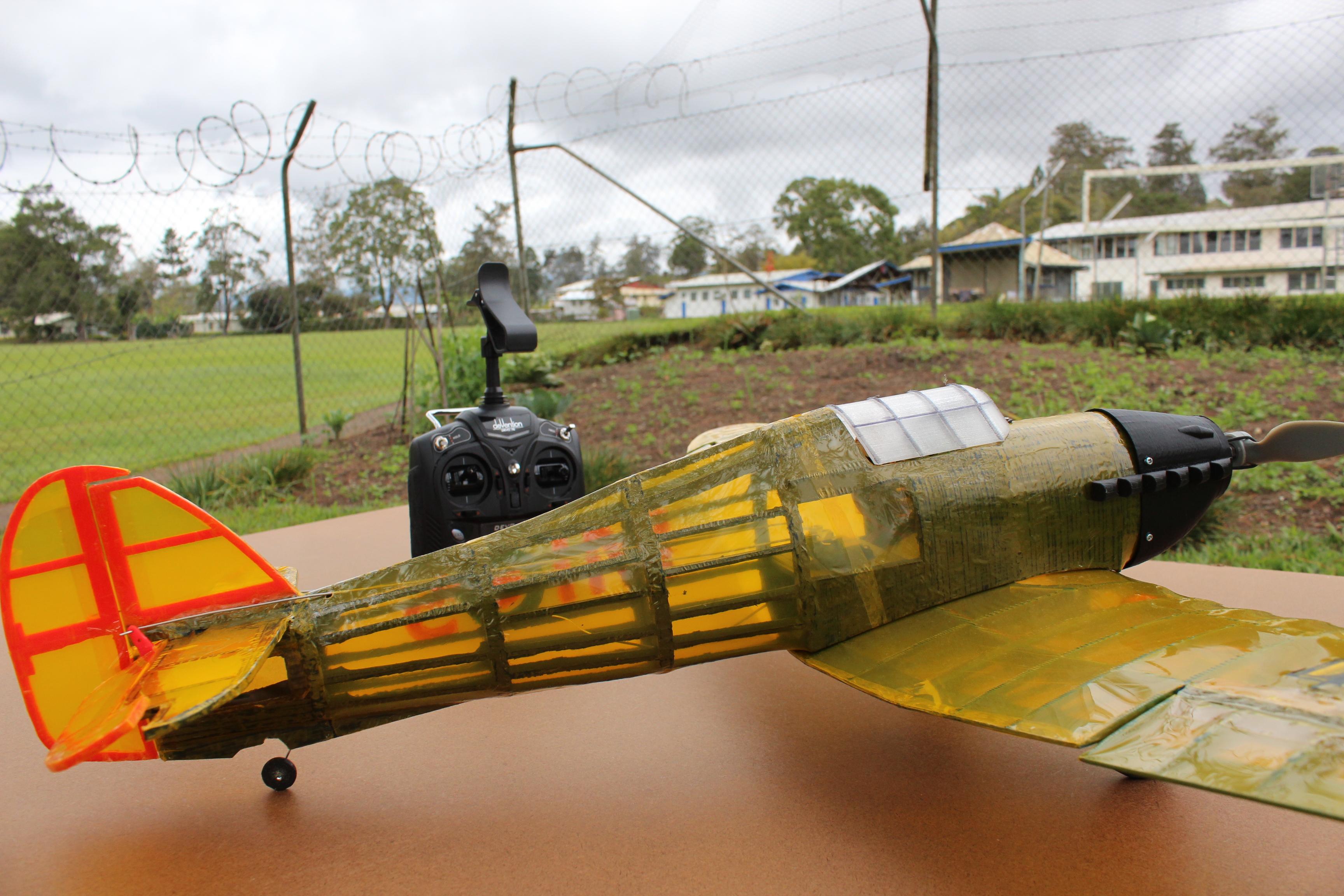 IMG_3650.JPG Télécharger fichier STL gratuit Full RC Hawker Hurricane - projet imprimé 3D • Objet pour imprimante 3D, taciucmarius