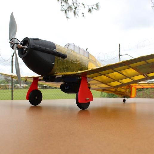 IMG_3654.JPG Télécharger fichier STL gratuit Full RC Hawker Hurricane - projet imprimé 3D • Objet pour imprimante 3D, taciucmarius