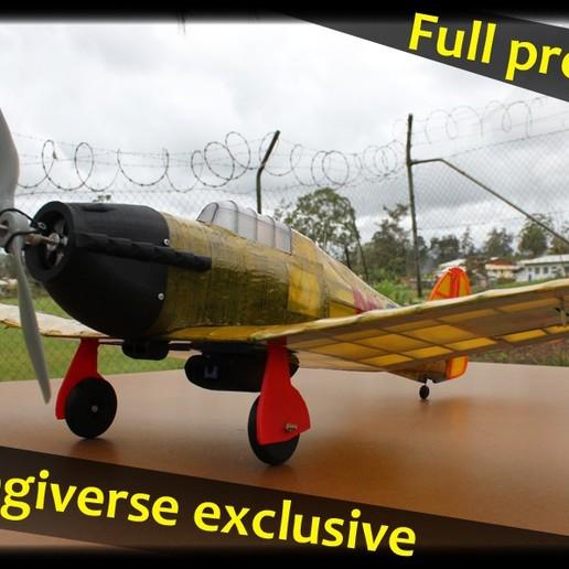 Hawker_hurricane_thumb.jpg Télécharger fichier STL gratuit Full RC Hawker Hurricane - projet imprimé 3D • Objet pour imprimante 3D, taciucmarius
