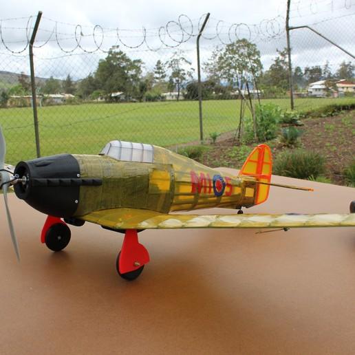 IMG_3661.JPG Télécharger fichier STL gratuit Full RC Hawker Hurricane - projet imprimé 3D • Objet pour imprimante 3D, taciucmarius