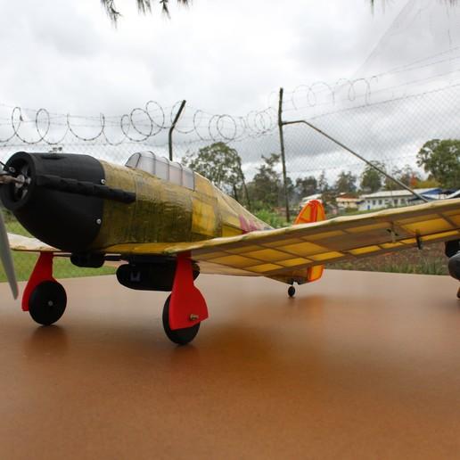 IMG_3662.JPG Télécharger fichier STL gratuit Full RC Hawker Hurricane - projet imprimé 3D • Objet pour imprimante 3D, taciucmarius