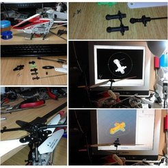 Download free 3D printer templates RC helicopter Jesus nut, taciucmarius