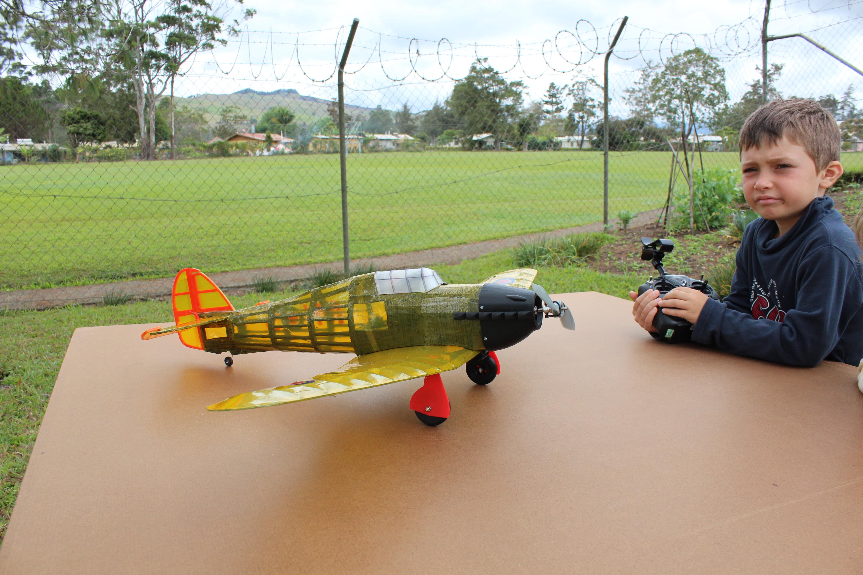IMG_3648.JPG Télécharger fichier STL gratuit Full RC Hawker Hurricane - projet imprimé 3D • Objet pour imprimante 3D, taciucmarius