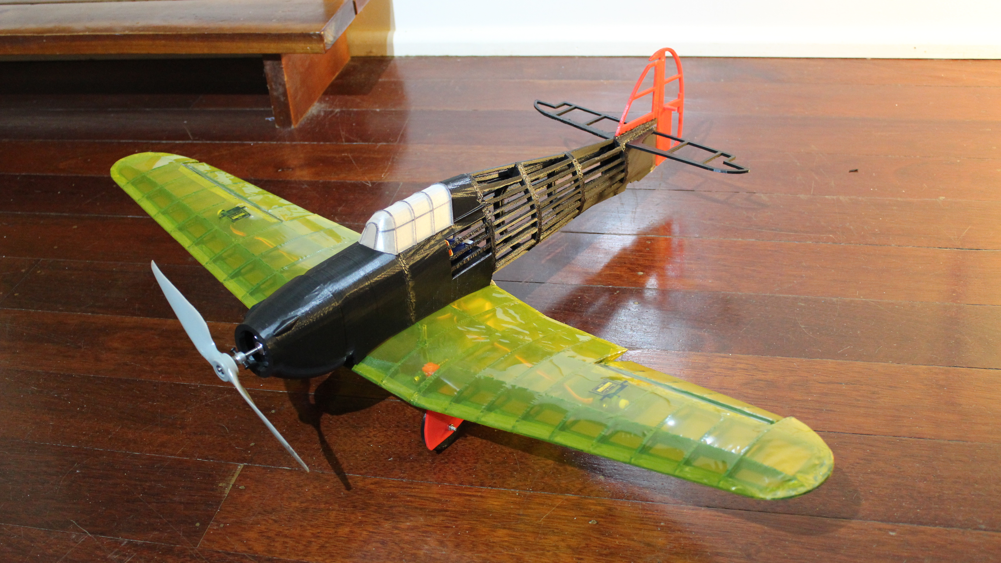 IMG_3617.JPG Télécharger fichier STL gratuit Full RC Hawker Hurricane - projet imprimé 3D • Objet pour imprimante 3D, taciucmarius