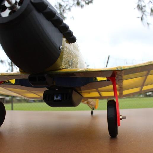 IMG_3667.JPG Télécharger fichier STL gratuit Full RC Hawker Hurricane - projet imprimé 3D • Objet pour imprimante 3D, taciucmarius
