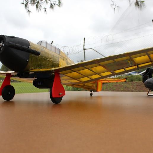 IMG_3664.JPG Télécharger fichier STL gratuit Full RC Hawker Hurricane - projet imprimé 3D • Objet pour imprimante 3D, taciucmarius