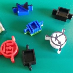 Free 3D printer model Component magnets for fridge / whiteboard, taciucmarius