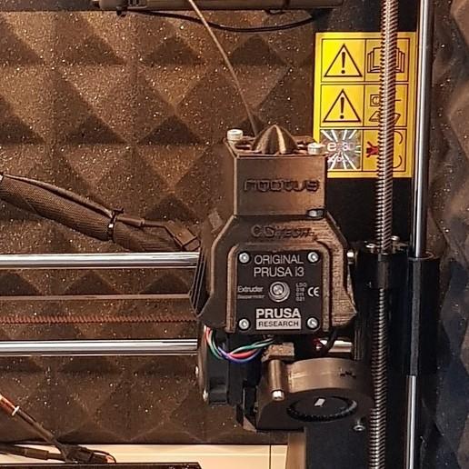 Télécharger plan imprimante 3D gatuit Prusa i3 MK3s - Refroidissement du moteur de l'extrudeuse, Simonpk