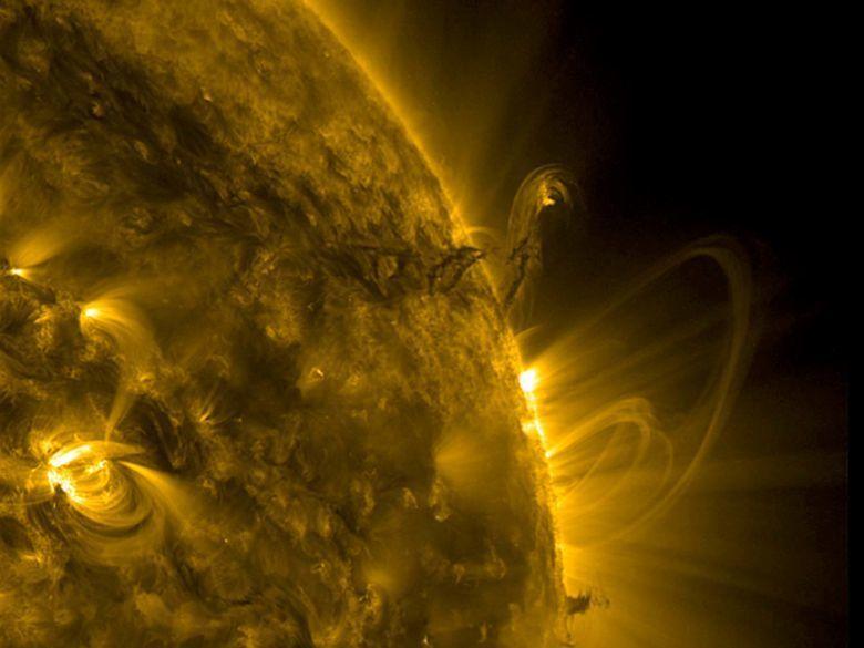 filament171walk.jpg Télécharger fichier STL gratuit Soleil (avec tempêtes de plasma) • Objet imprimable en 3D, szadros