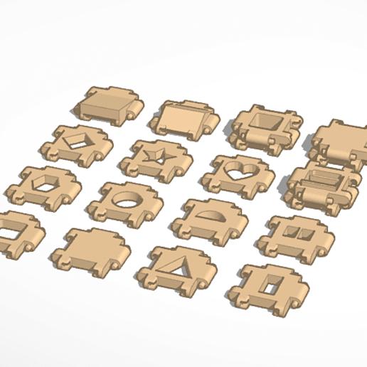 Download free 3D printer files MyPanel Kit Game, szadros