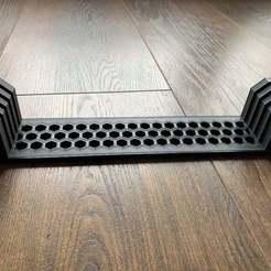Descargar Modelos 3D para imprimir gratis Soporte de cristal para el lecho 235 x 235 x 4 mm para Ender 3, marekdlugosz