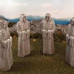 Descargar archivos STL gratis Estatua del sacerdote, Terrain4Print