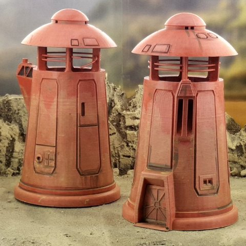 735787f88cca416cfe9cf223c5fb0cb8_display_large.jpg Download free STL file Desert sci-fi buildings • 3D printer template, Terrain4Print