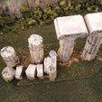Télécharger fichier impression 3D gratuit colonnes romaines, Terrain4Print