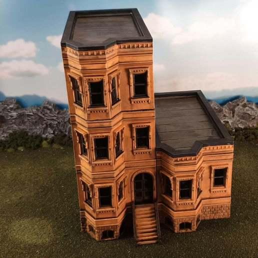 Download Free 3D Printer Templates New York Brownstone