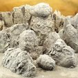 Download free 3D printer designs Rock formations, Terrain4Print