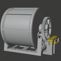 Descargar archivos STL gratis Tambor más impreso, Terrain4Print