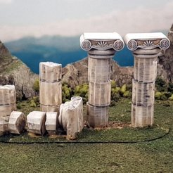 2a062beeabaebebcfefc347620655485_display_large.jpg Download free STL file Roman columns • 3D print template, Terrain4Print