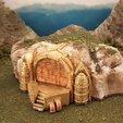 Download free 3D printing templates Modular gaming hills - steampunk, Terrain4Print
