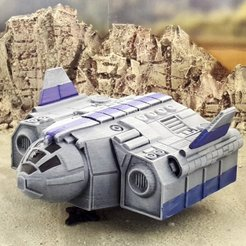 Download free 3D printer designs TA12 troop transport - intact and wrecked, Terrain4Print