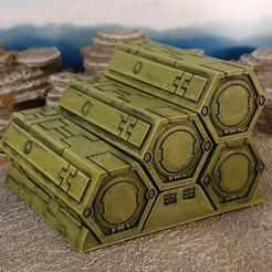 Download free 3D printing models Scifi containers, Terrain4Print