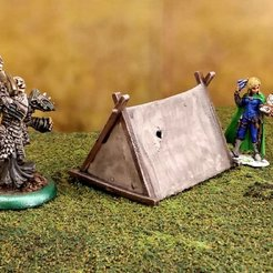 Download free STL file Fantasy viking tent 28mm • 3D printing object, Terrain4Print