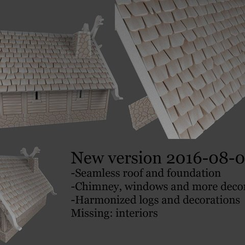 d6dc376e54be2089b39caa34eab4e0c0_display_large.jpg Télécharger fichier STL gratuit Maison viking fantaisiste • Plan imprimable en 3D, Terrain4Print
