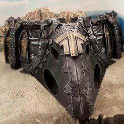 Descargar diseños 3D gratis Naufragio de una nave espacial gótica C nose, Terrain4Print