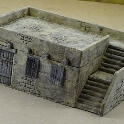Imprimir en 3D gratis Pueblo modular de estilo árabe, Terrain4Print