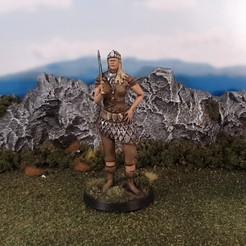 Télécharger STL gratuit Reine des elfes, Terrain4Print