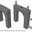 Free STL file Ulvheim B1 - modular fantasy ruins, Terrain4Print