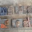 Free 3D printer designs Shanty barricades, Terrain4Print