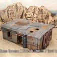 Télécharger STL gratuit Maisons de bidonvilles, Terrain4Print