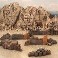 Free 3D printer designs Shanty obstacles, Terrain4Print