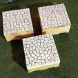 Télécharger plan imprimante 3D gatuit Terrain du temple de Tikal A, Terrain4Print