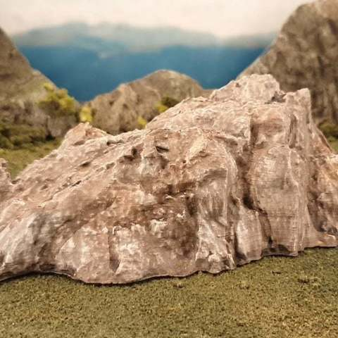 Descargar Modelos 3D para imprimir gratis Roca Kitzbühel escaneada en 3D, Terrain4Print