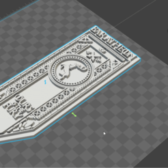 Download STL file Baratheon house banner, throne game • 3D printing template, De_Ideas_3D