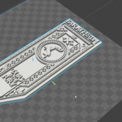 snapshot9.png Télécharger fichier STL Bannière de maison Baratheon, jeu du trône • Design à imprimer en 3D, De_Ideas_3D