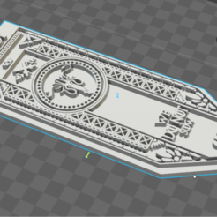 STL file Greyjoy house banner, throne game, De_Ideas_3D