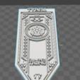 3D print model Banner house Tayrell, Game Of Thrones, De_Ideas_3D