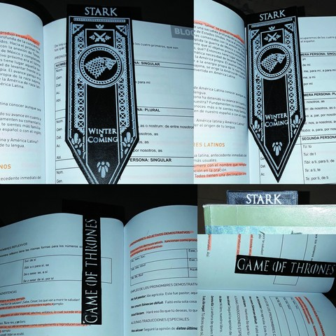 Download STL file Stark House Banner, Game Of Thrones • 3D printable template, De_Ideas_3D