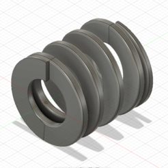"""Compression Spring .png Télécharger fichier STL Ressort de compression impérial 1 """"L • Design imprimable en 3D, tinker3dmodel"""
