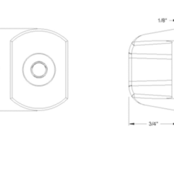Download 3D printing files 2 Arm Grip Knob, tinker3dmodel