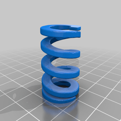 Spring-25mmLx10mmIDx19mmOD.png Download free STL file 4 Compression Springs • 3D printable design, tinker3dmodel