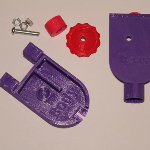 Download 3D printer files SOLDERWIRE_FEEDER_&_WIRE_HOLDER, tinker3dmodel
