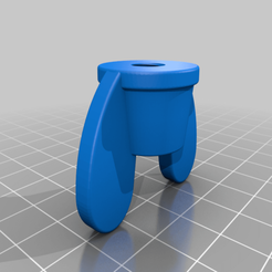 Wing_Nut_M8x1.25.png Download free STL file Flanged Wing Nut • Design to 3D print, tinker3dmodel